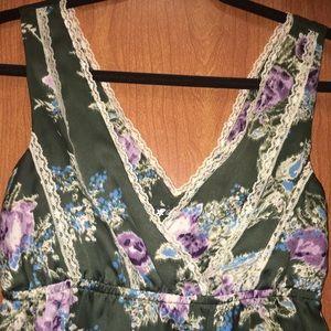 Lily White Tops - Lily White Silk Tank